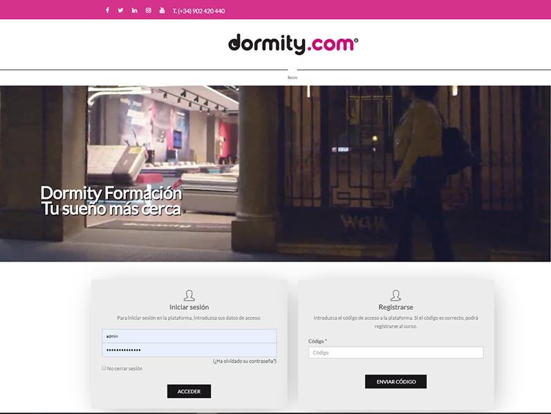 Dormity: Nuevo cliente de la Plataforma elearning de Aduxia