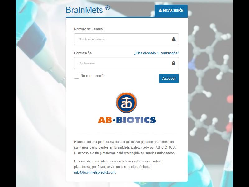 Aduxia: socio tecnológico de Ab·Biotics - Desarrollo Aplicación BrainMets